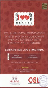 CCL5 INVITATION CARD